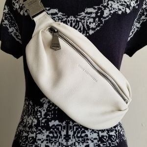 Aimee Kestenberg Ivory Leather Milan Bum Bag